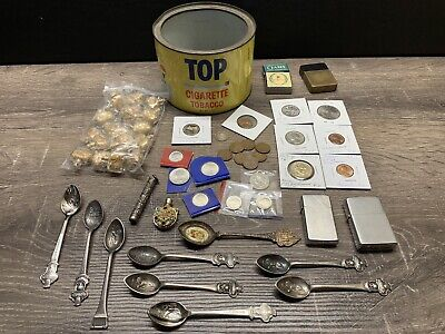 Junk Drawer Gold Silver Rolex Coins Zippos Disney