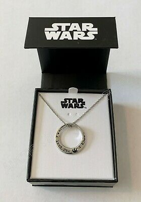 Star Wars - I Love You, I Know - Mobius Pendant Necklace - Officially Licensed