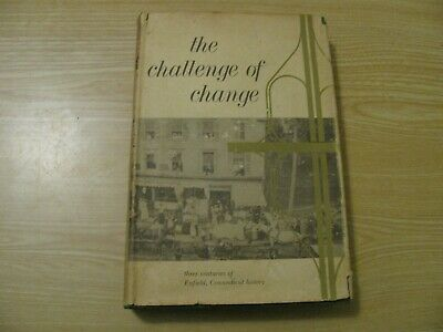 1977 Enfield Connectcut Conn Ct  History Hc Book Challenge Of Change 1St Ed Rare