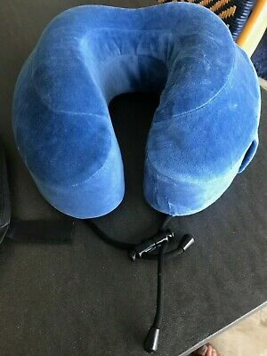 Cabeau Evolution Cool Memory Foam Neck Pillow Blue
