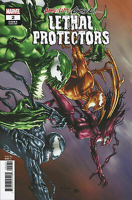 ABSOLUTE CARNAGE LETHAL PROTECTORS #2--1:25 SUAYAN CODEX VARIANT--High Grade -🔥