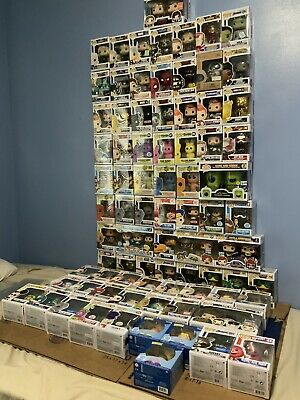 5 Funko Pops From Lot Of Over 75 Randomly Choosen. Rare/Vaulted/Con/Chase