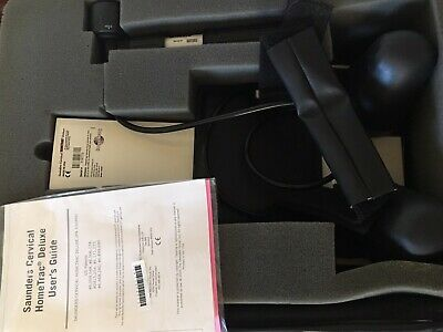 Saunders Cervical HomeTrac Deluxe Traction Device w/ Case100399  Used