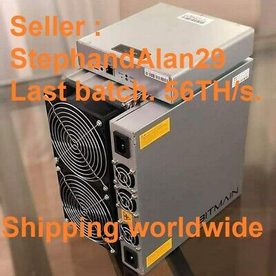 NEW Bitmain ANTMINER S17 PRO 56TH/s ASIC MINER BTC READY TO SHIP