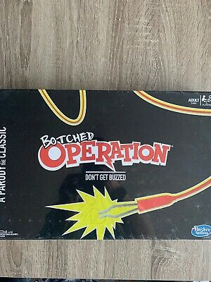 NEW Operation Electronic Parody Botched Operation Board Game