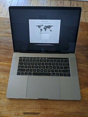 """Macbook Pro 15.4"""" i7 2.7GHz Quad Core 512Gb SSD Touch Bar MLH42X/A"""