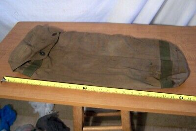 Ww2 U.s. Carrying Pouch For Bazooka Rockets. Dated 1944