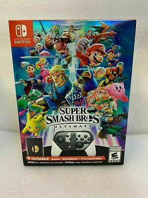 Nintendo Switch Super Smash Bros Ultimate - Collectors Edition - Brand New!