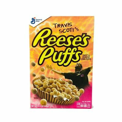 Limited Travis Scott X Reeses Puffs Cereal - SOLD OUT RARE!