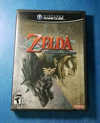 The Legend of Zelda: Twilight Princess, GameCube 2006, Complete, Tested, Working