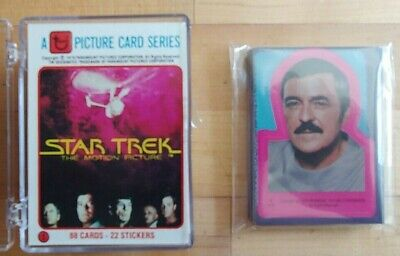 1979 Topps Star Trek Motion Picture Trading Cards with Sticker SET!!!    MINT