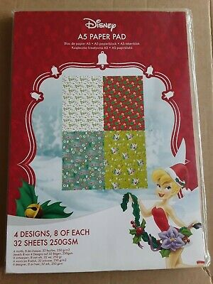 Tattered Lace Disney Tinker Bell A4 paper Pad