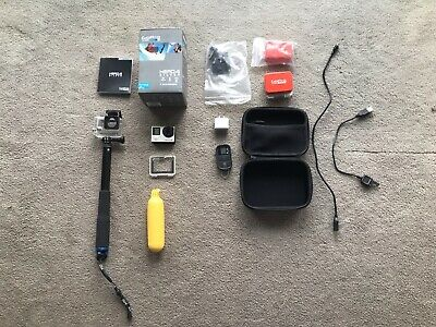 GoPro Hero 4 Silver HWBD1 Waterproof 1080p Camera With Touch Display + EXTRAS