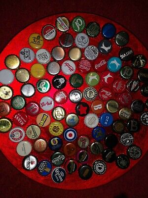 87 bottle tops. All different.
