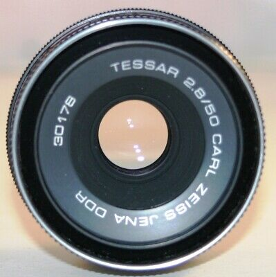 Carl Zeiss Jena DDR Tessar 50mm F2.8 M42 mount
