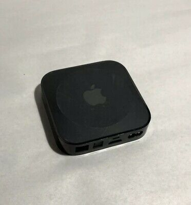 Apple TV A1427 3rd Generation Streaming Device Black Used NO CABLES/REMOTE