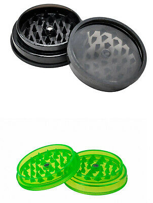 GRINDER  2 PART Sharks Teeth Magnetic Tobacco Leaf Weeds Crusher