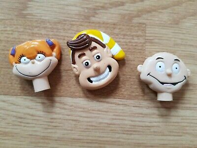 Lot KELLOGG'S CEREAL Pen & Spoon TOPPERS RUGRATS Snap Crackle Pop RICE CRISPIES