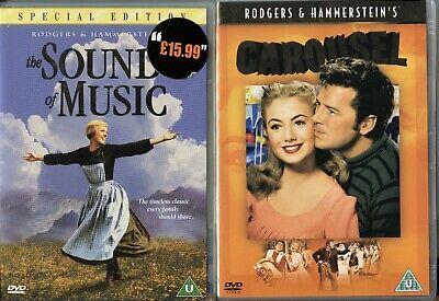 The Sound Of Music (2-Disc) Special Edition / Carousel 2 Dvd Bundle