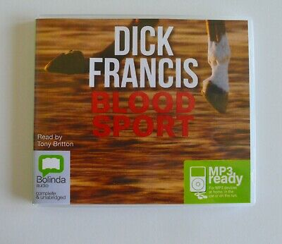 Blood Sport - by Dick Francis - MP3CD - Audiobook