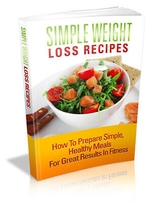 ebook+pdf+Simple Weight Loss Recipes fitness+Master re-seller right meal plans