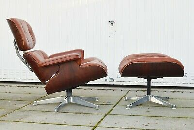Eames Lounge Chair + Ottoman Palisander Rosewood original vintage 1958 !