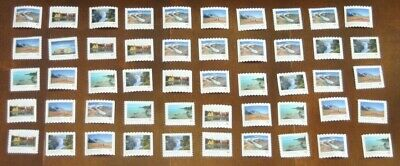 50 Canada Post P-Stamps Uncancelled Off Paper No Gum. Value $45.00 (Far & Wide)