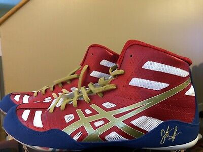 *NEW* Asics JB Elite Wrestling Shoes Men's Size 9 model#J3A1Y