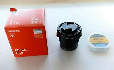 Sony FE 50mm F1.8 E-Mount with vnd filter