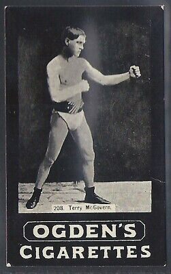 Ogdens Tabs-Series F-#F208- Boxing - Terry Mcgovern