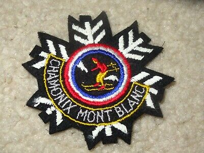 Boy Scout Chamonix Mont Blanc France District 2019 World Jamboree Patch Badge