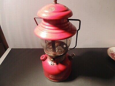 Coleman Lantern Model 200,  Dated 4-66,With Case.