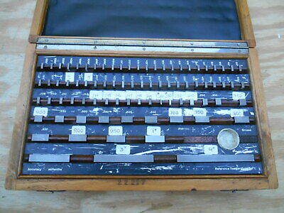 81 Piece Gage Block Set  , Made In Germany