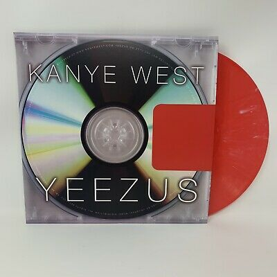 Kanye West - Yeezus Vinyl Record LP Limited Edition Color Variant