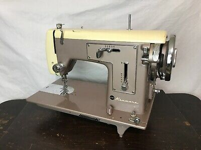 Heavy Duty Vtg Cams Sewing Machine Kenmore 158.512 Denim Leather, Parts / Repair