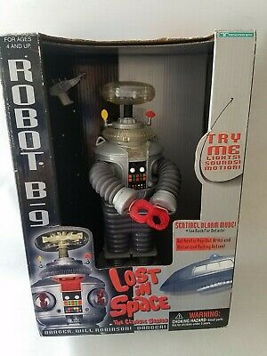 Lost in space the classic series robot B-9 1997 Rare Excellent NEW