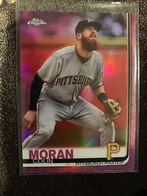 2019 Topps Chrome Pink Refractor #65 Colin Moran Pittsburgh Pirates