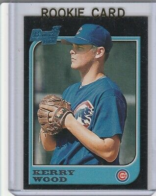 KERRY WOOD 1997 Bowman ROOKIE CARD Chicago Cubs Baseball RC