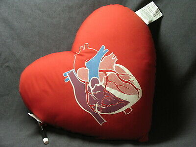 Biomorphic Vascular Heart Shape Therapeutic Pillow Surgery Recovery Halloween