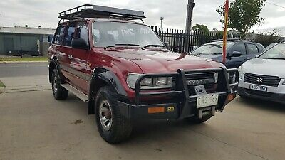 1992 Toyota Landcruiser Gxl 80 Series Factory Turbo Diesel Auto Extras