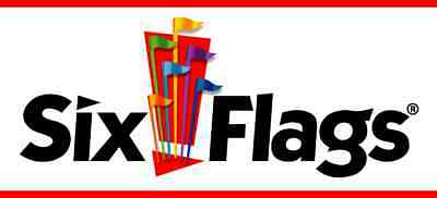 Two (2) single day E-Tickets for your choice of Six Flag Parks Valid 2019 Season