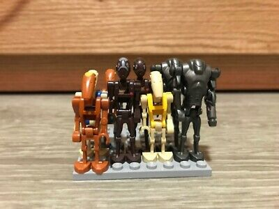 Genuine Lot of Lego Star Wars Battle Droid Minifigures