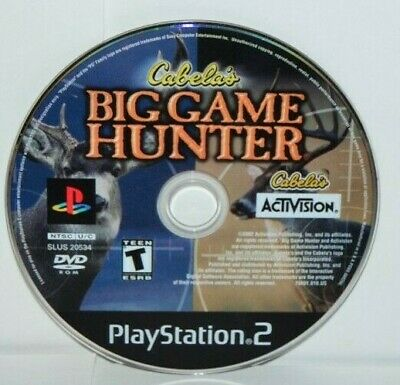 Cabela's Big Game Hunter (Sony PlayStation 2, 2002) PS2 Hunting Video Game