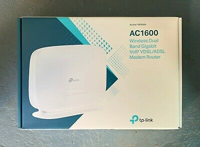 TP-LINK AC1600 Wireless Dual Band Gigabit VoIP VDSL/ADSL Modem Router NBN Ready!