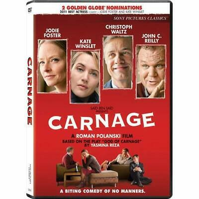 Carnage On DVD With Jodie Foster Comedy Very Good