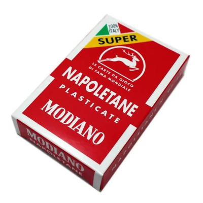 Modiano Napoletane Plastic Coated Playing Cards NEW