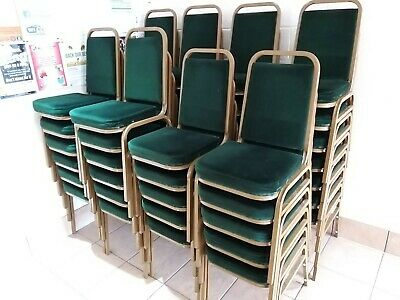 Banqueting Chairs (x50) Complete With Trolley