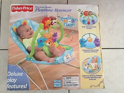 Fisher Price Transat Vibrant Precious Planet Playtime Bouncer