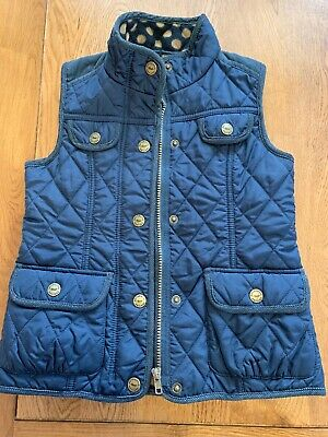 NEXT Girls Quilted Gilet 5-6 Years