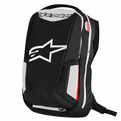 #c Alpinestars City Hunter Backpack Black / White / Red